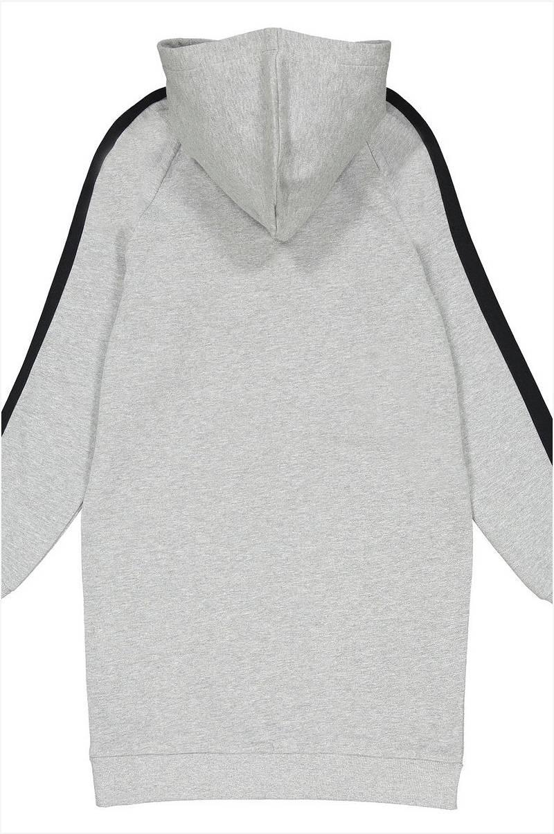 La Redoute Collections Sweatshirtklänning med huva och