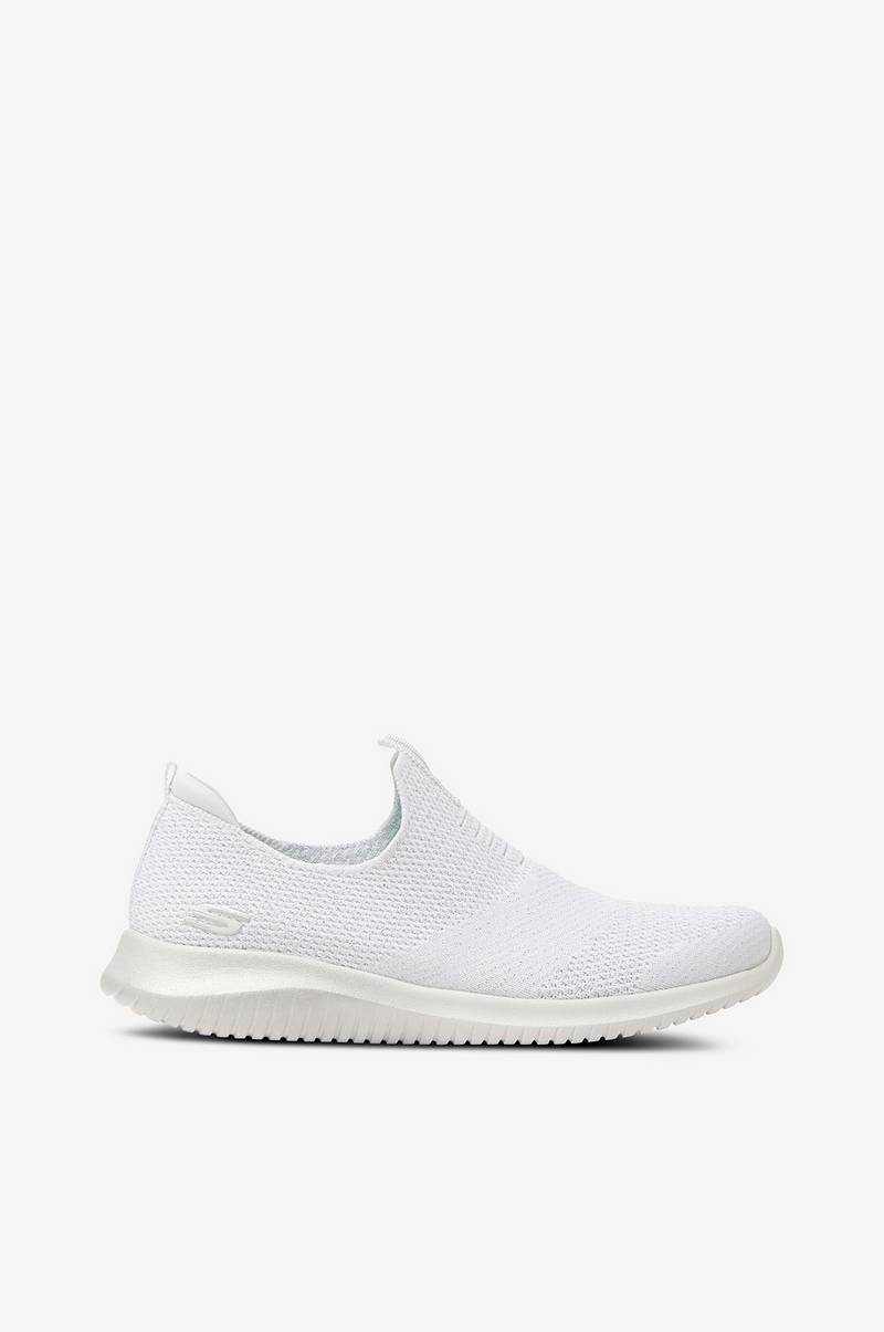 Skechers Sneakers Womens Ultra Flex First Take Hvid Dame
