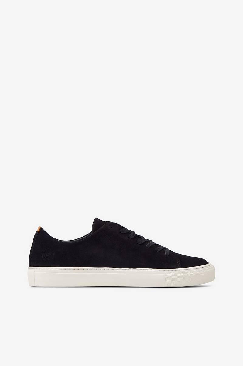 Sneaky Steve Sneakers Less Suede Shoe Svart Herre Ellos.no
