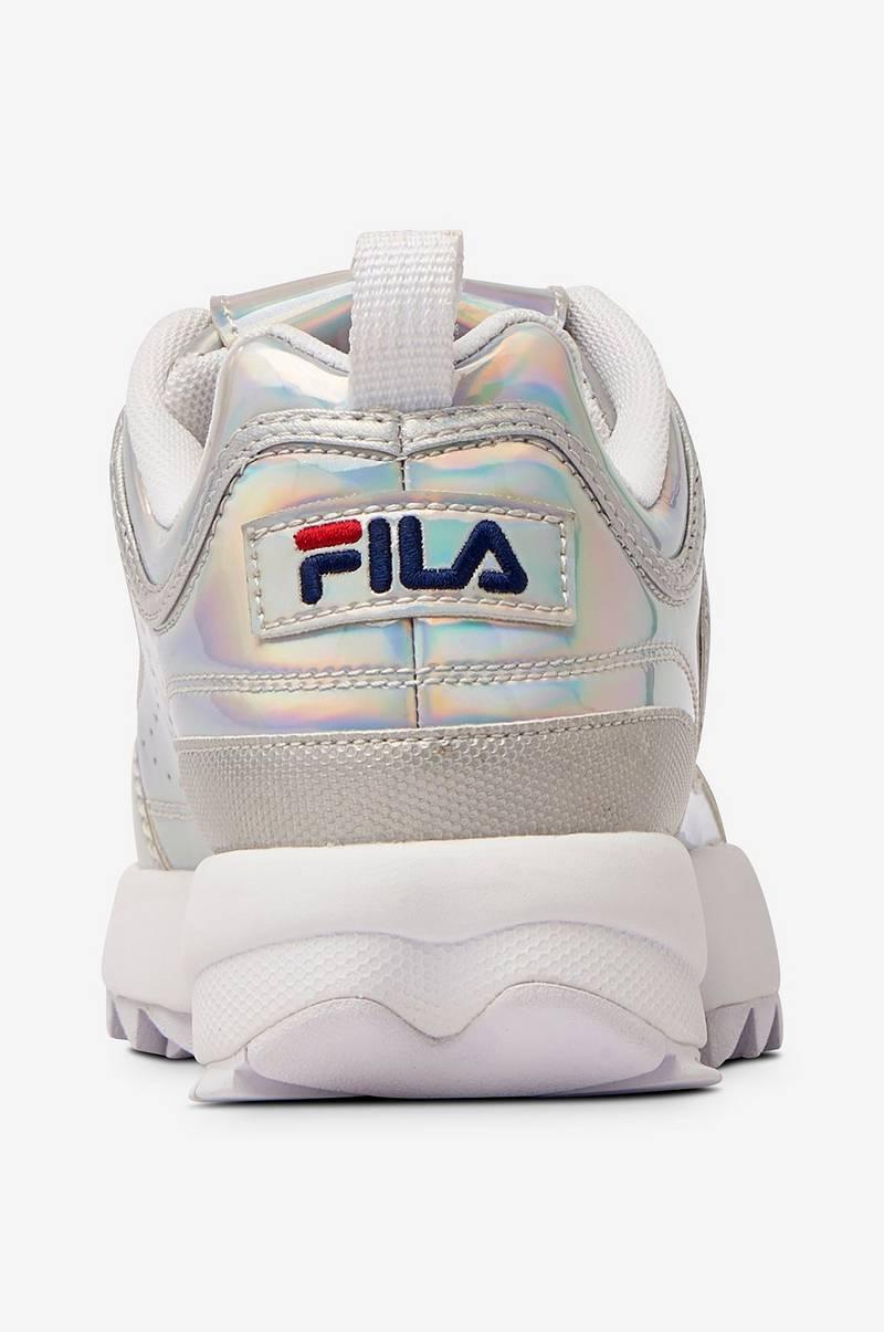 FILA Sneakers Disruptor M Low Wmn Sølv Dame Ellos.no