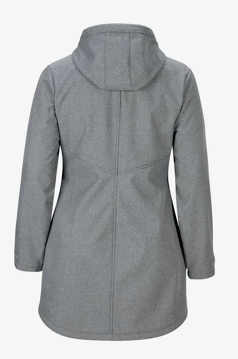 Softshell jakke med hætte Ellos Jakker & frakker til Kvinder