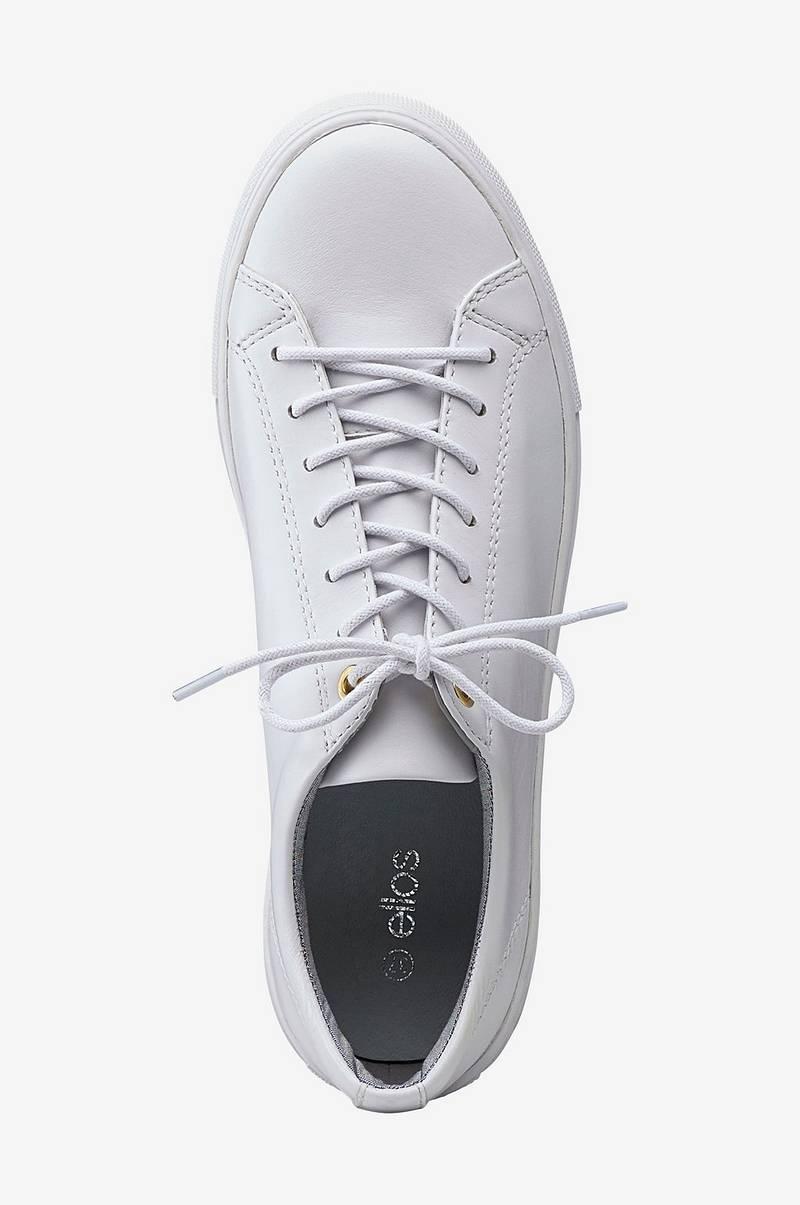 Ellos Shoes Sneakers Casual Lace Up Vit Dam Ellos.se