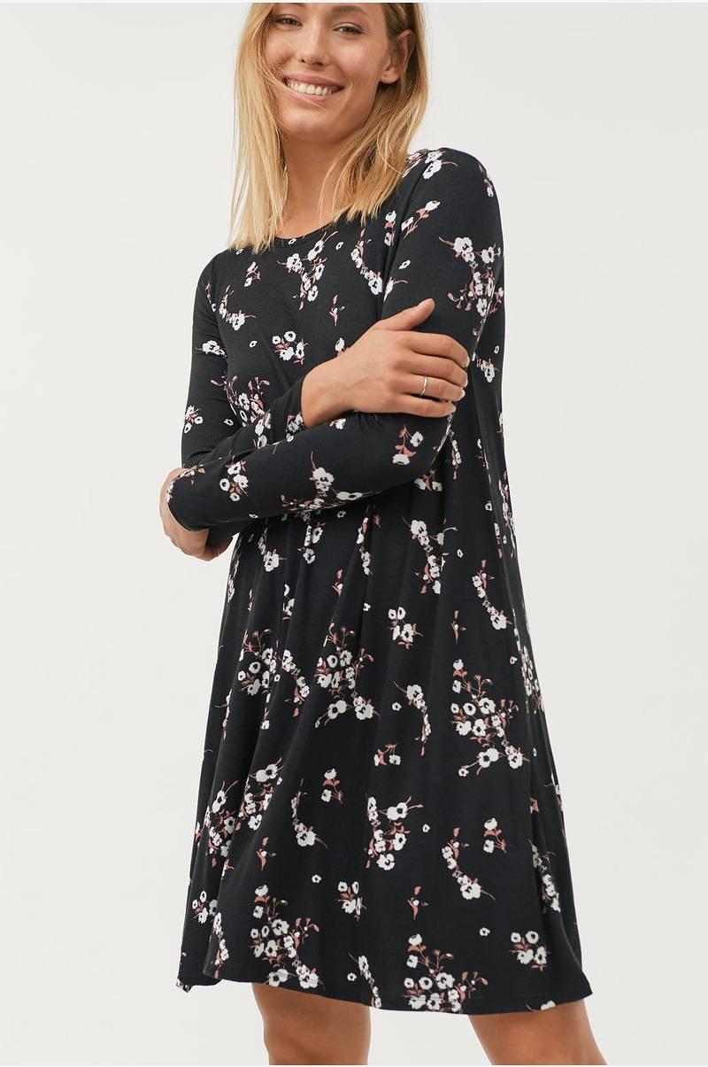 ellos svart klänning dana