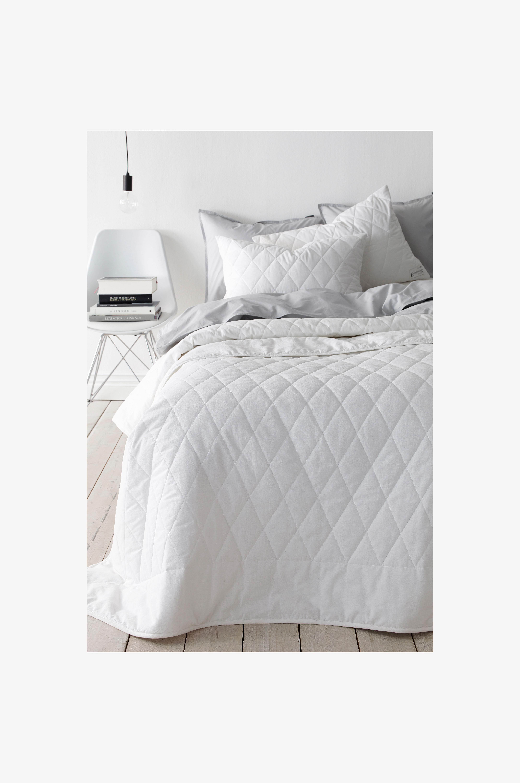 Ellos Home Päiväpeite Dena 150x250 cm - Valkoinen - Kapeaan sänkyyn WpUVIs