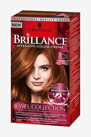 Schwarzkopf Brillance 701 Cool Topaz - Hårfarve - Ellos.dk