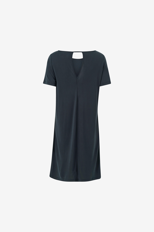 Vila Klänning viTriny S/S Dress Fav - Svart - Trikåklänningar 53Upz