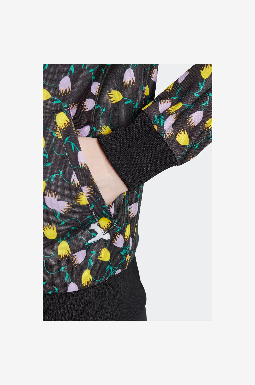 adidas Originals Wct-takki Allover Print Track Jacket - Musta - Colleget & hupparit O3rVdy