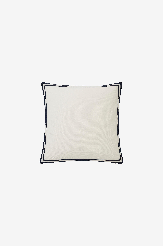 Lexington Tyynynpäällinen Blue Sea Cotton Pillow Cover - Valkoinen - Tyynynpäälliset 2L4gIe