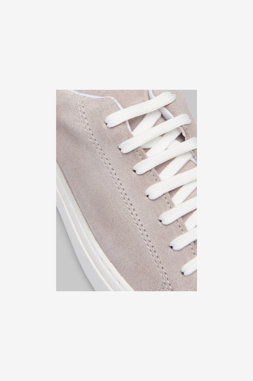 Studio Total Sneakers NTN Suede Sneaker - Grå - Låga sneakers BDHgn