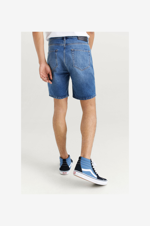 Studio Total Farkkushortsit Clean Denim Shorts - Sininen - Farkkushortsit kl8F56