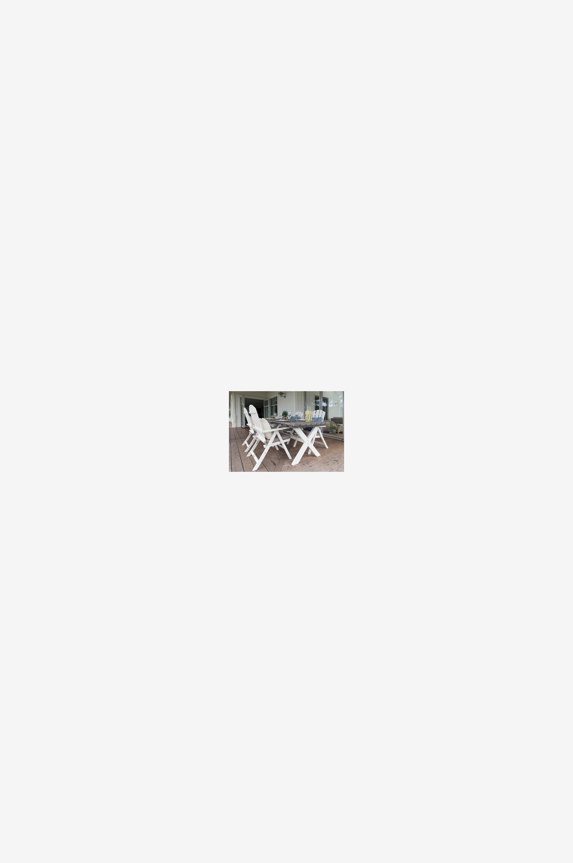 Hillerstorp SHABBY CHIC bord 86x195 cm - Grå - Bord FiaLN