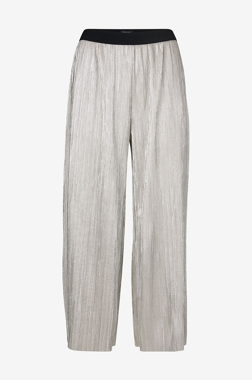 Soaked in Luxury Byxor Iris Metallic Culotte - silver - Dam