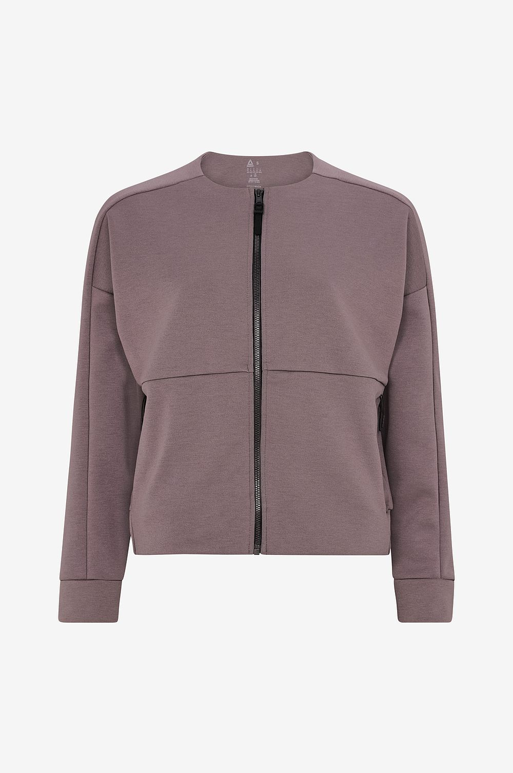 Reebok Performance Sweatshirt Full-Zip Coverup - Grå - Dam
