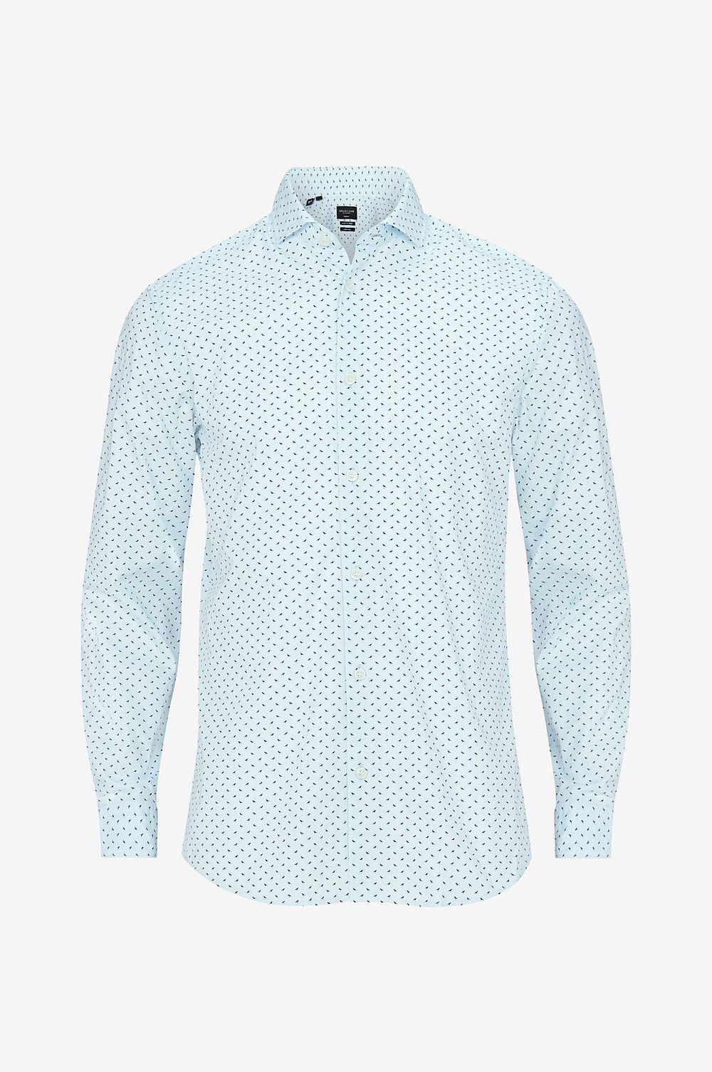 130fa529 Selected HOMME Skjorta slhSlimsel-flow - - Herr Shirt Blå nojrkr3625 ...