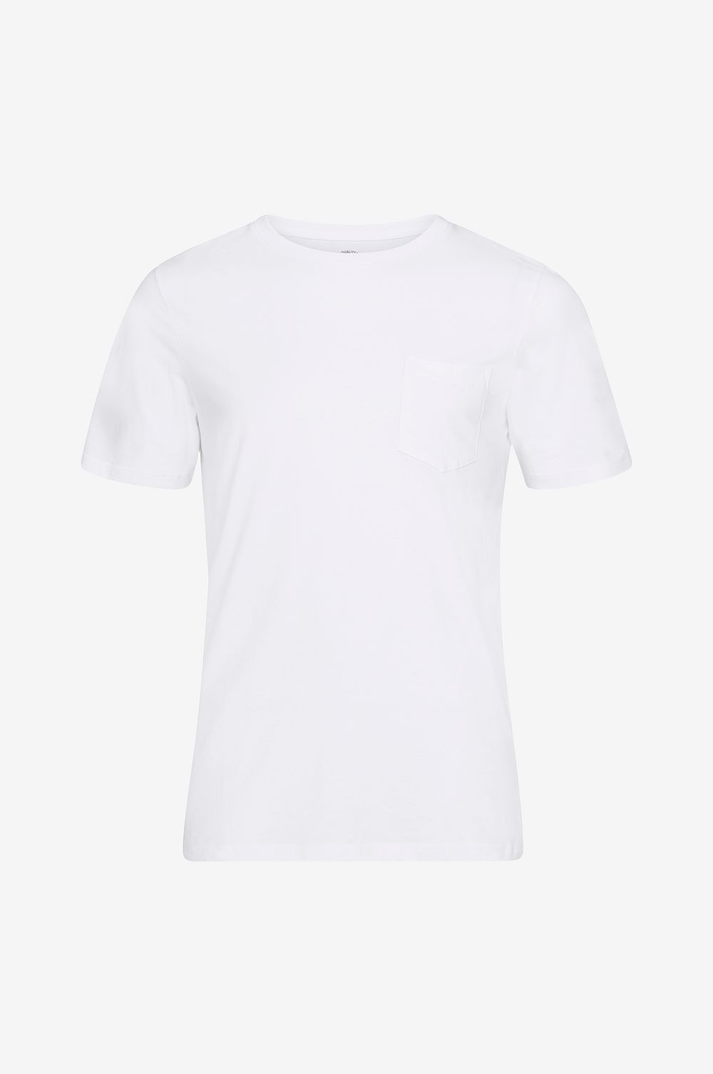 Jack & Jones T-shirt jjePocket Tee SS O-Neck Slim - Vit - Herr