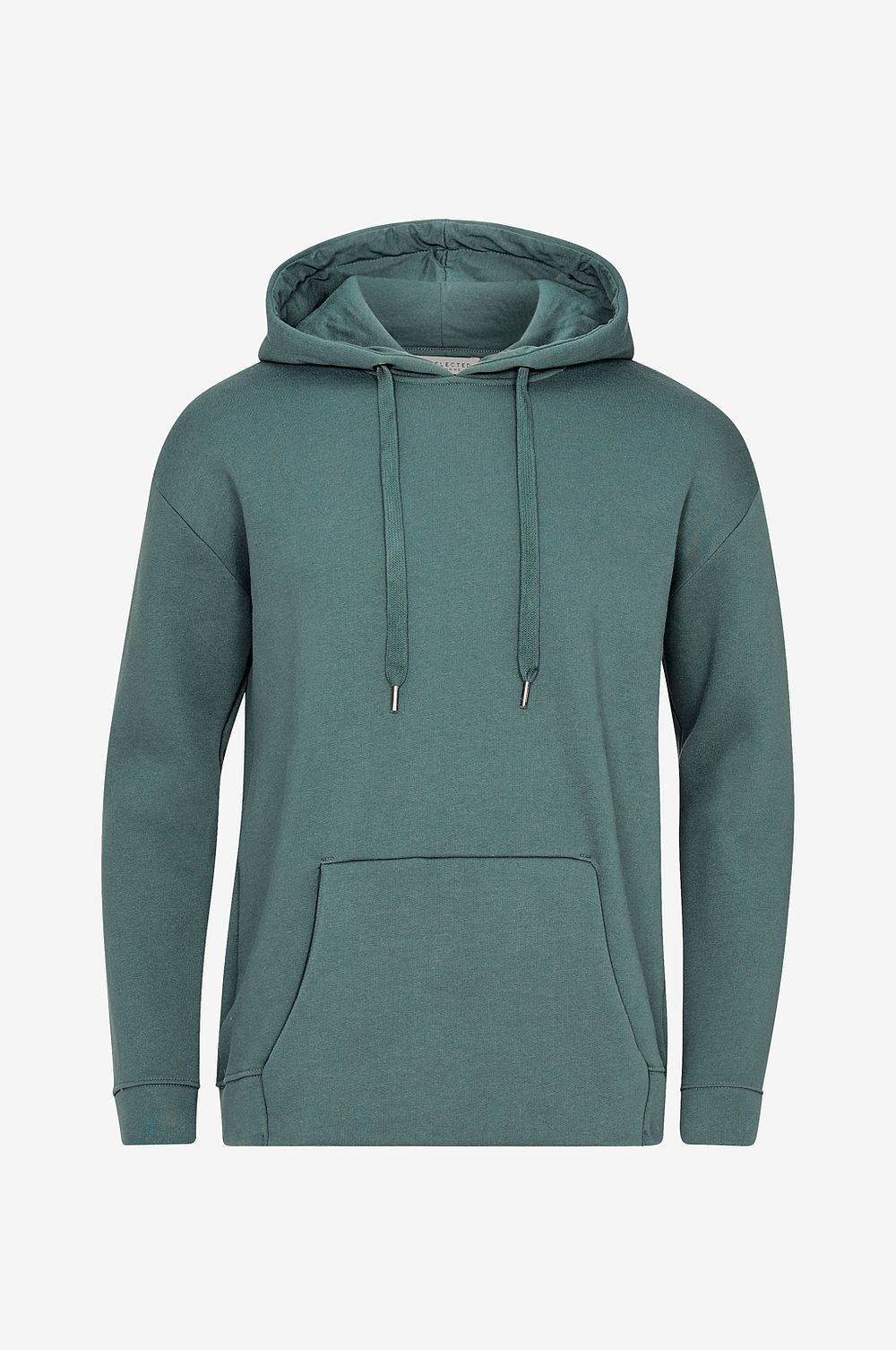 Selected HOMME Huvtröja slhPatt Hood Sweat W - Grön - Herr
