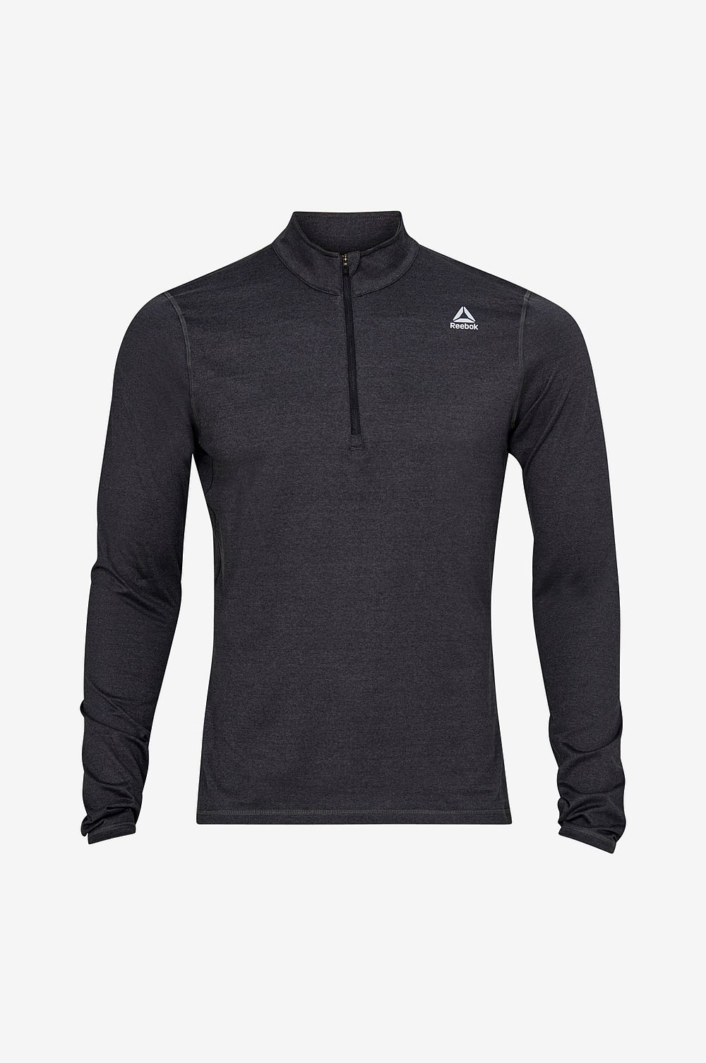 Reebok Performance Löpartröja Running Essentials Quarter Zip - Svart - Herr