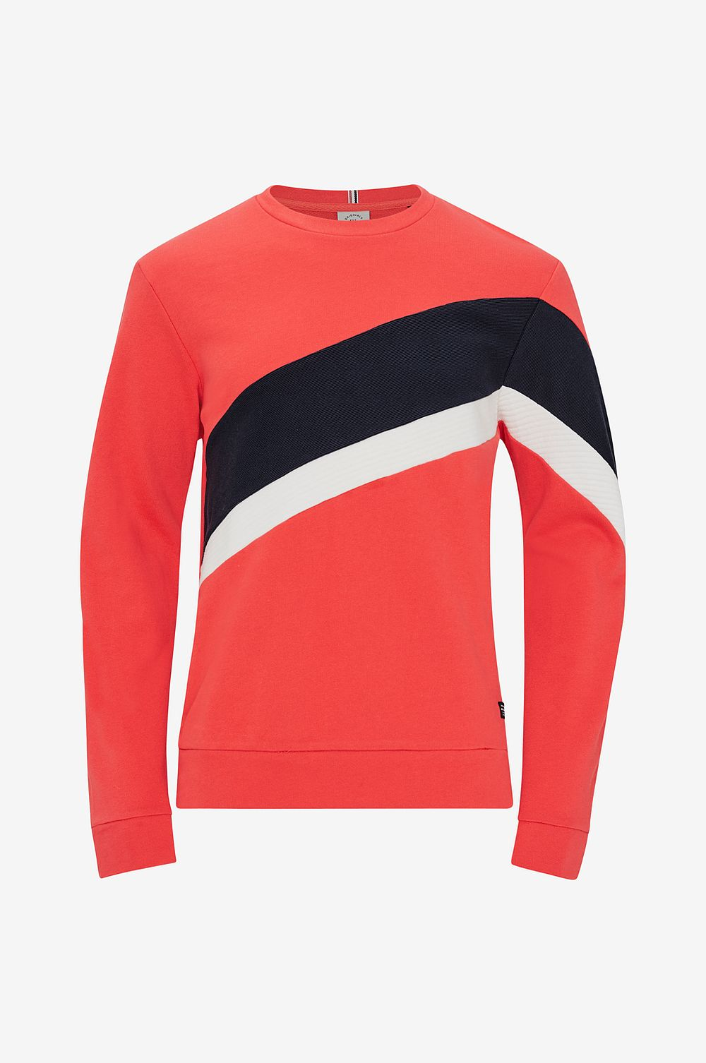 Jack & Jones Sweatshirt jorBlocko Sweat Crew Neck - Röd - Herr