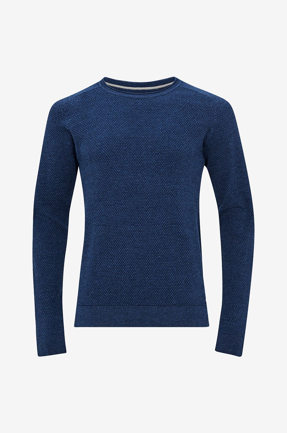 Jack & Jones Tröja jprHardy Knit Crew Neck - Blå - Herr