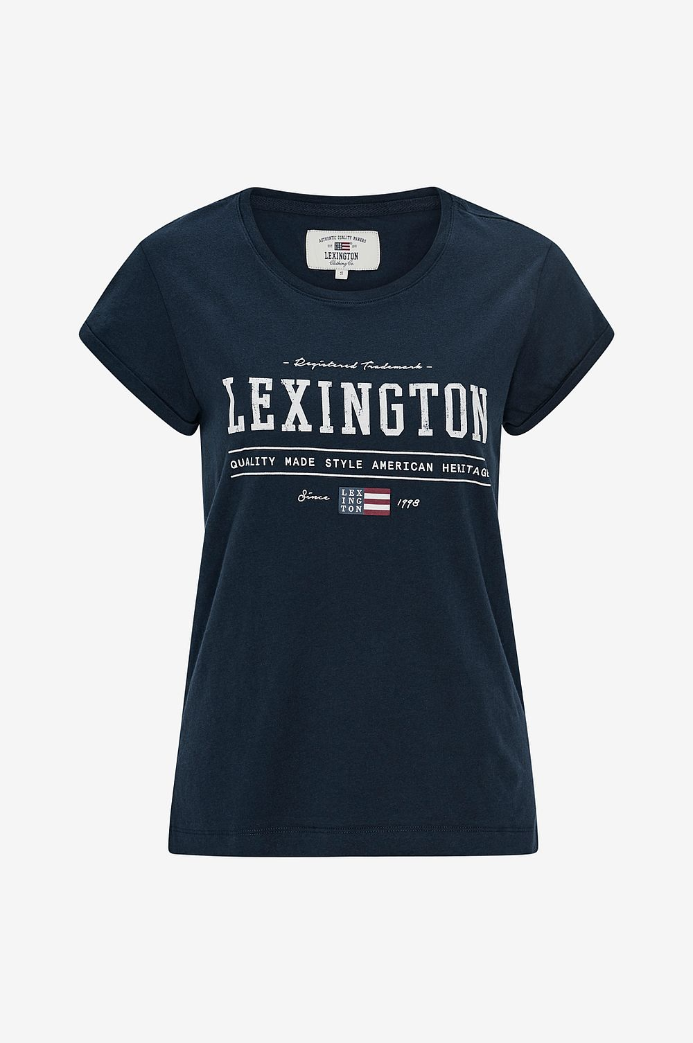 Lexington Topp Topp Topp Vanessa Tee Blå Dam säljer bra