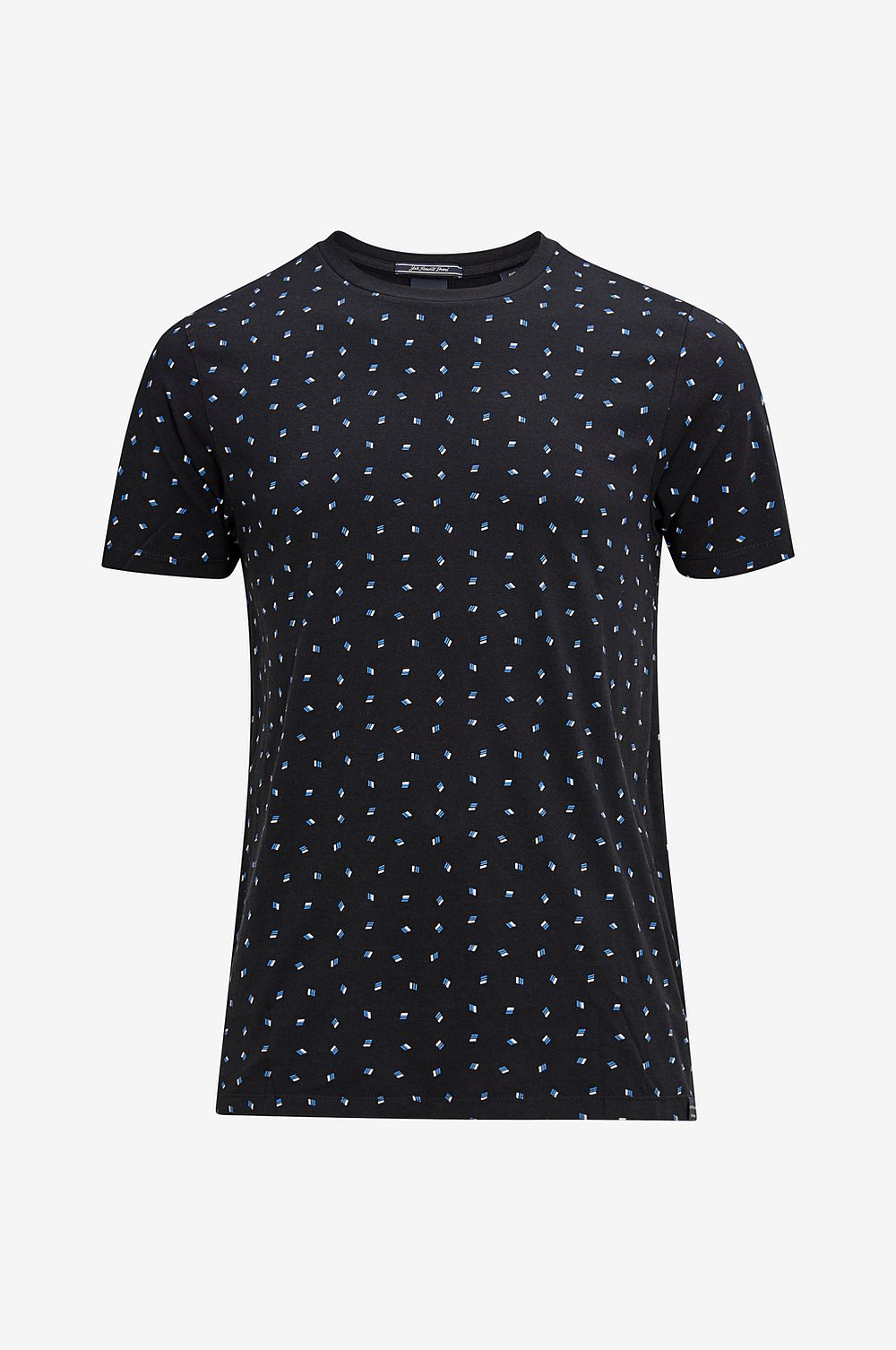 Scotch & Soda T-shirt Classic Tee - Blå - Herr