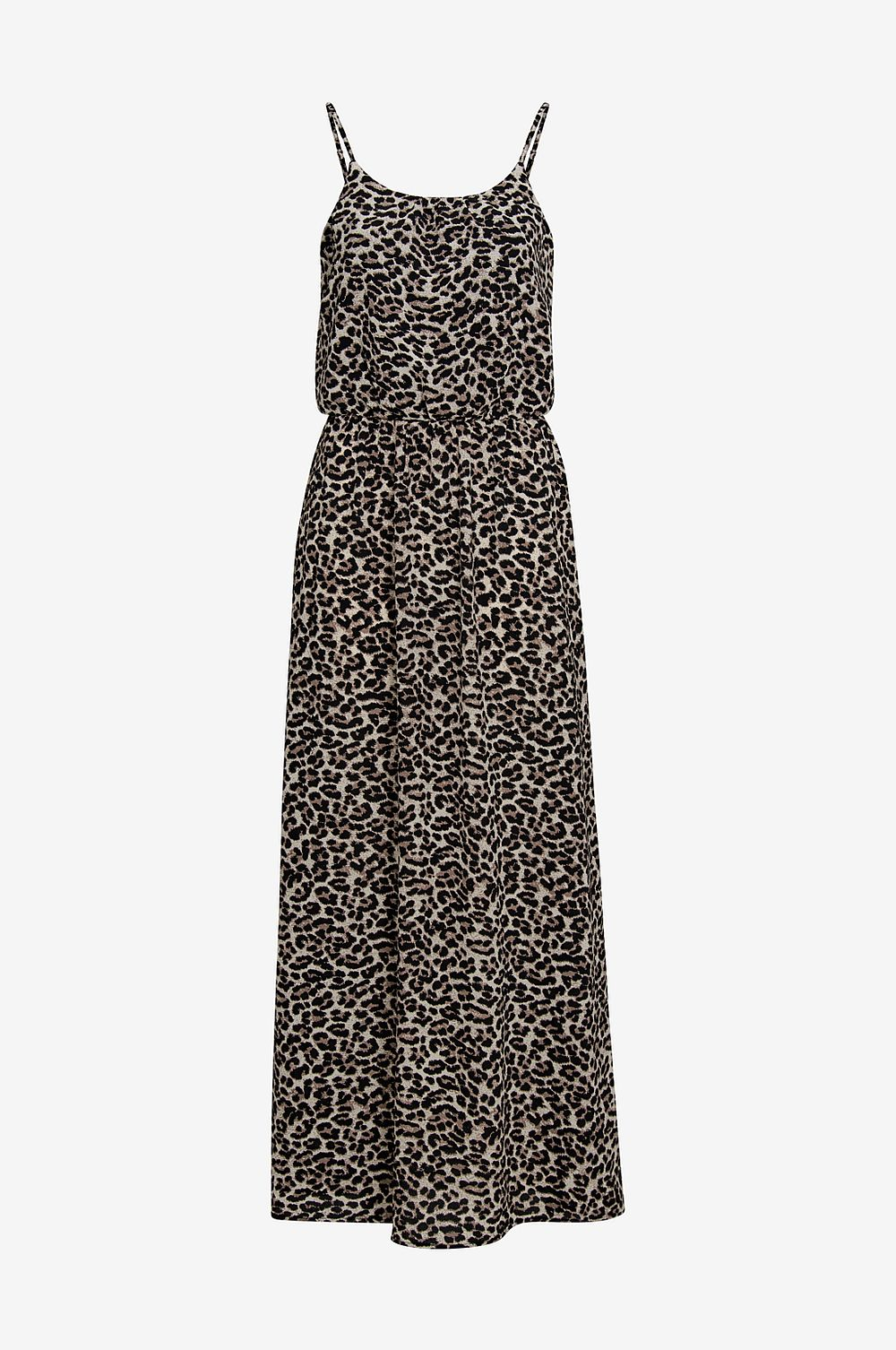 Only Maxiklänning onlWinner SL Maxi Dress - Brun - Dam