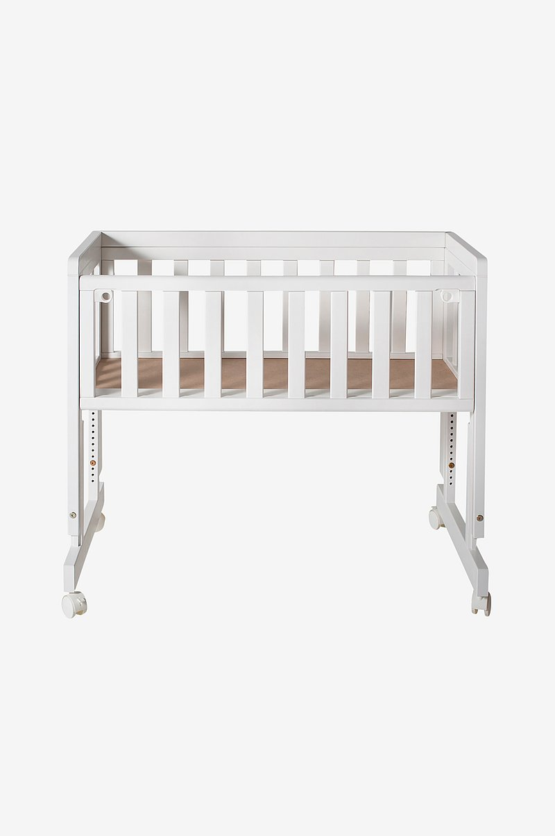 Bedside Crib Two Hvit