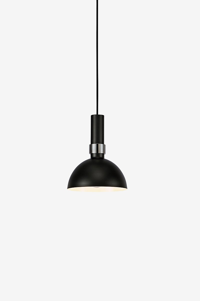 Loftlampe LARRY Sort/krom