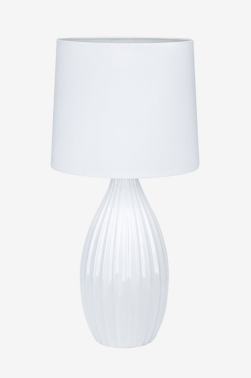 Bordlampe STEPHANIE Hvit