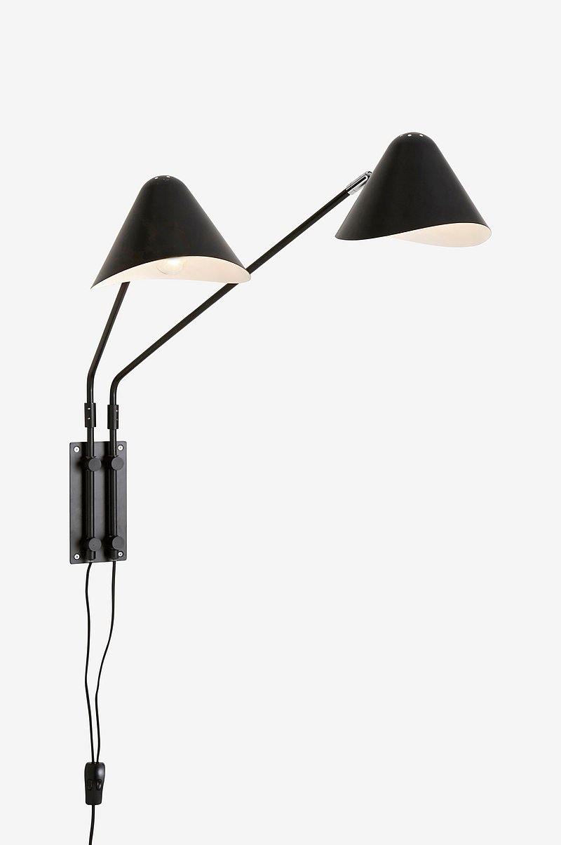 Vegglampe Nathan double