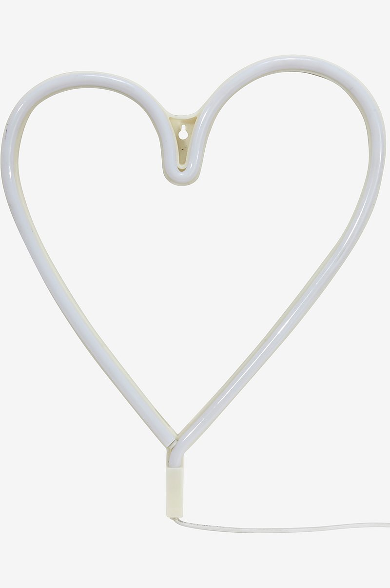 Vägglampa Heart LED