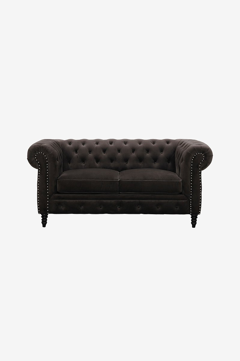 Sofa Cambridge Fløyel 2-seter
