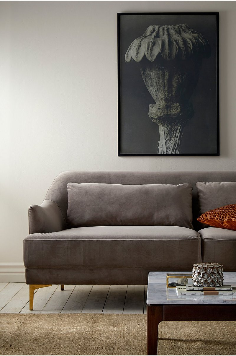 Sofa Cinlay 3-pers. i velour