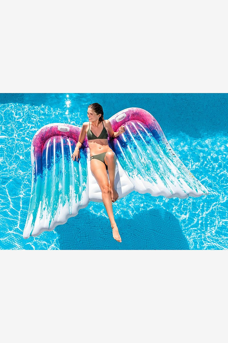 Angel Wings Mat Real Printing