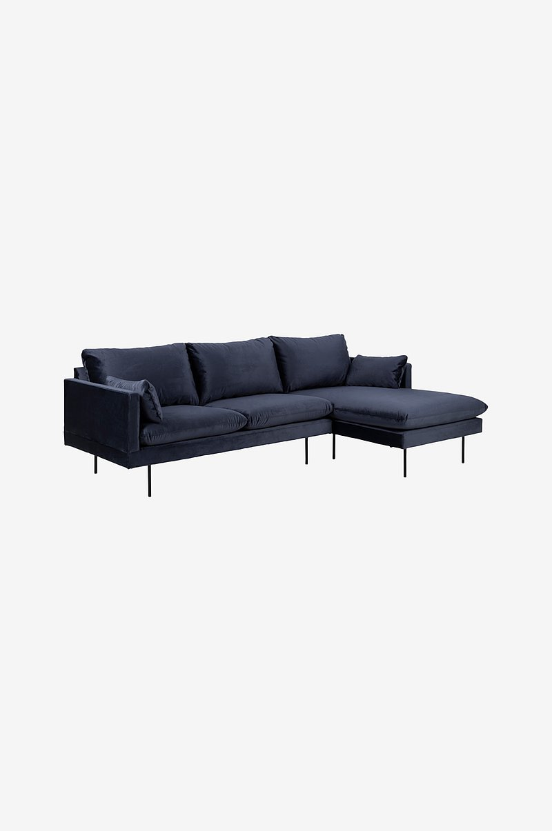 Sofa med chaiselong Vilma