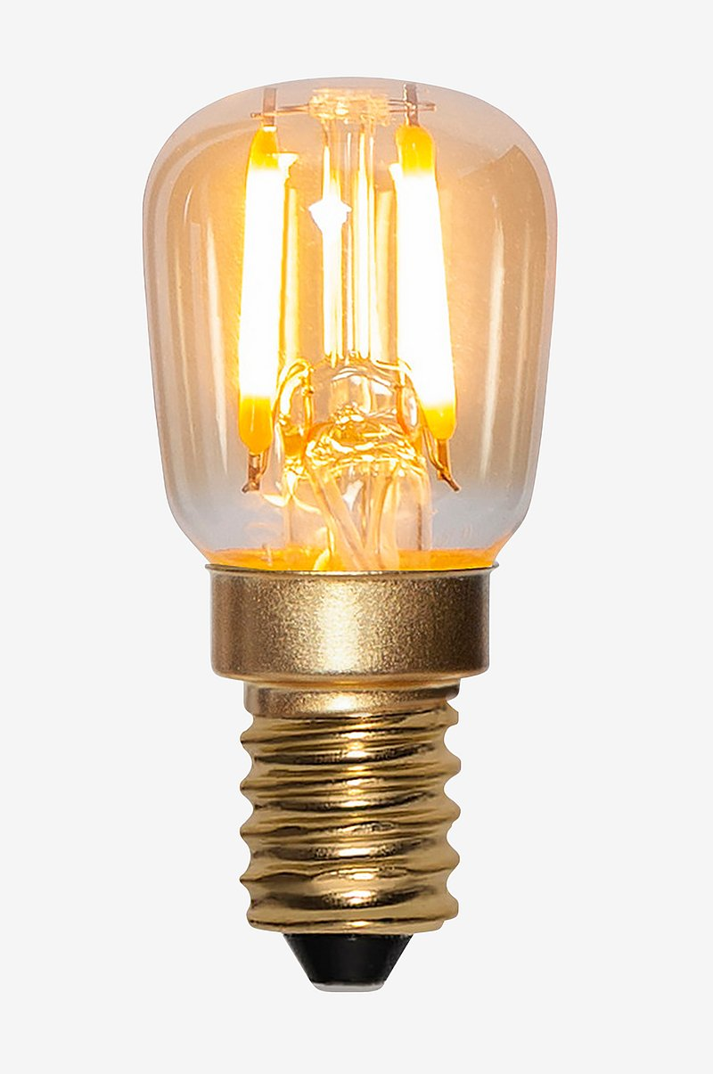 LED-lampa E14 ST26 Decoled Amber