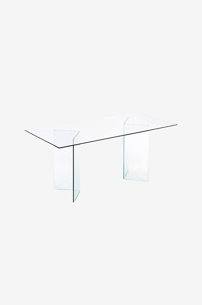 Bord BURANO 180x90 transparent glass