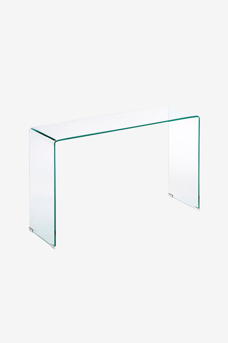 Avlastningsbord BURANO transparent glass