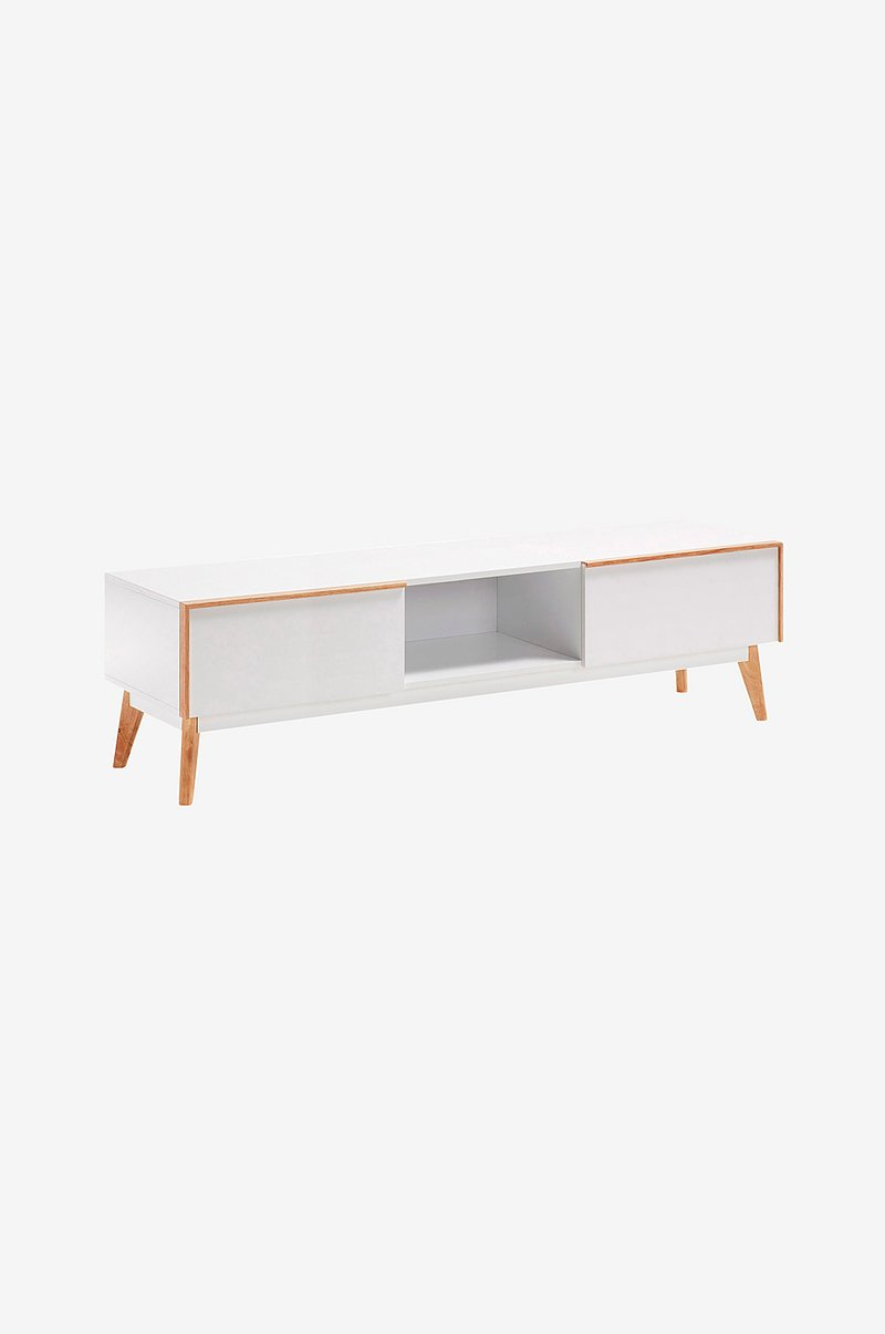 TV-bänk MEETY 150x42,5 vit MDF