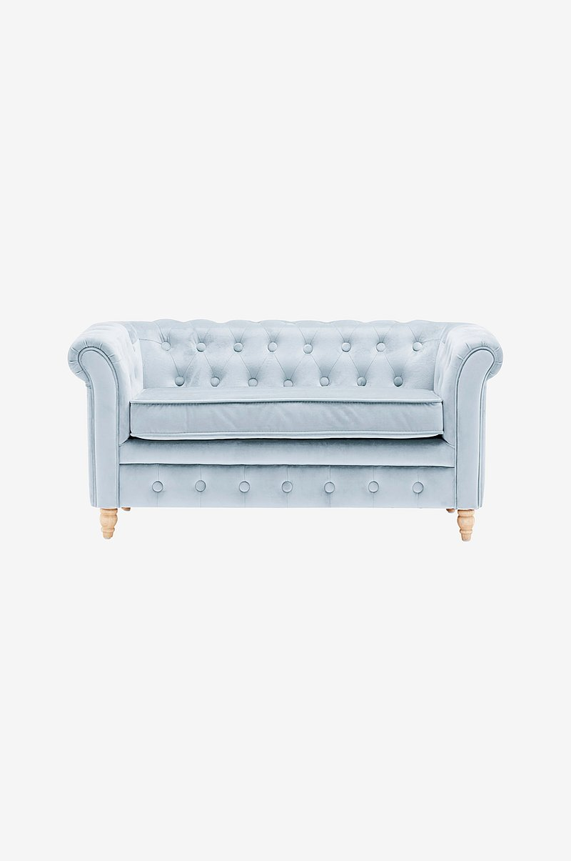 Sofa Chesterfield Fløyel