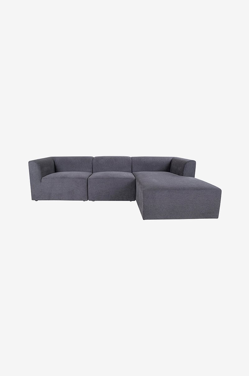 Loungesofa Indianapolis, høyre-del, 160/90x272xH67 cm