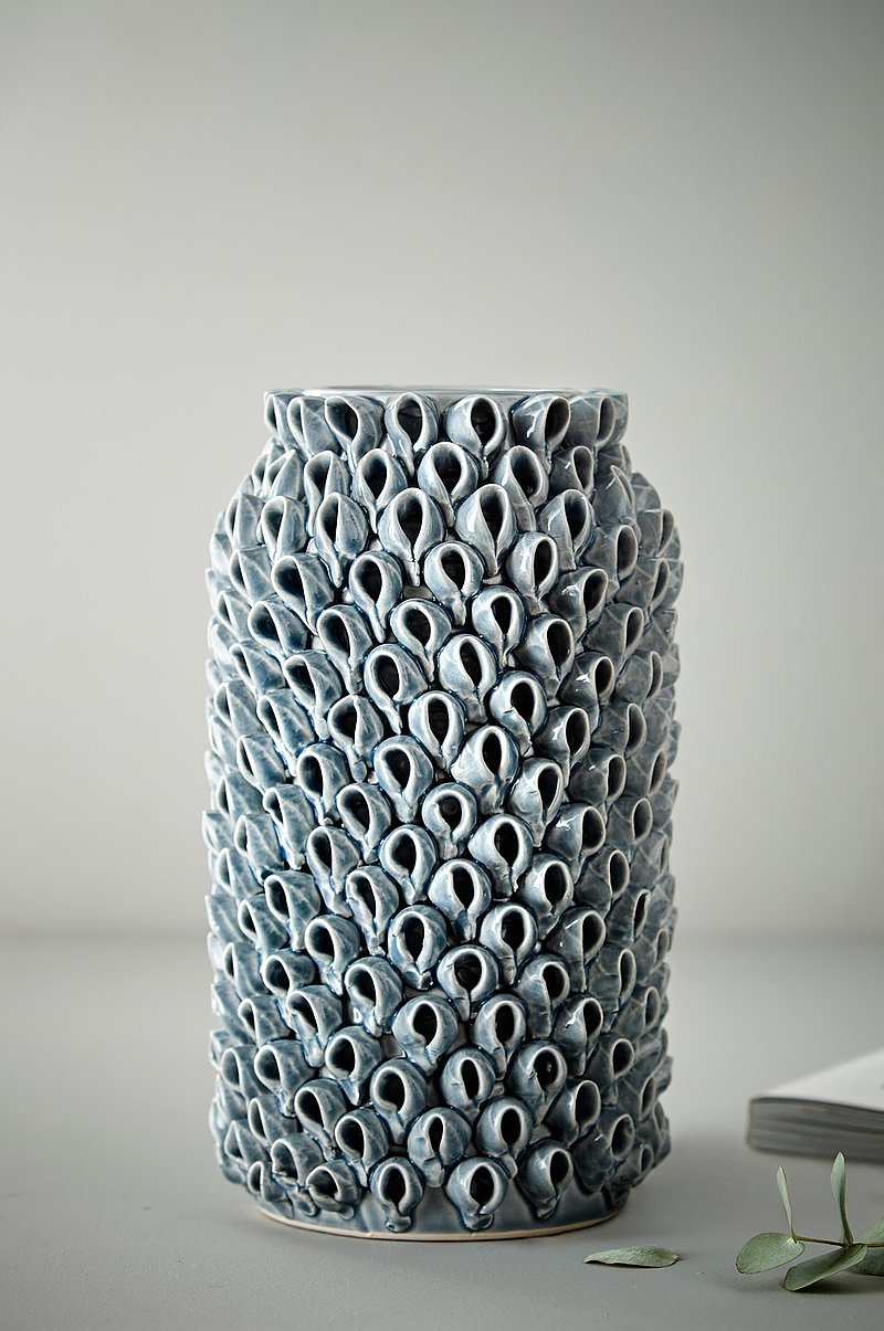 BLOWFISH vase - rett