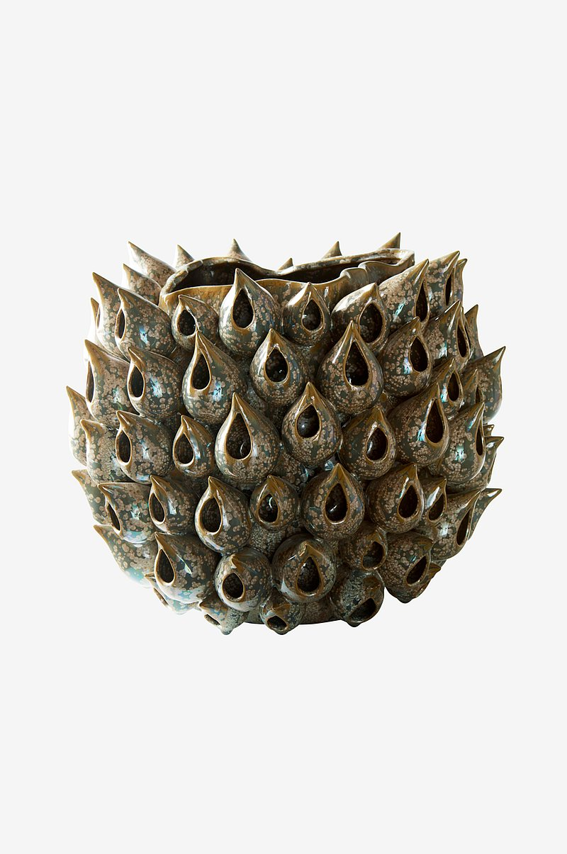BLOWFISH vase - rund