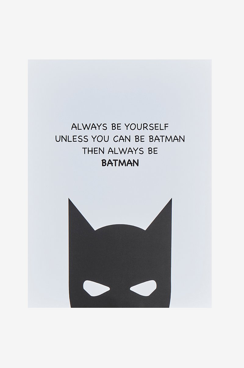 BE YOURSELF poster 30x40 cm