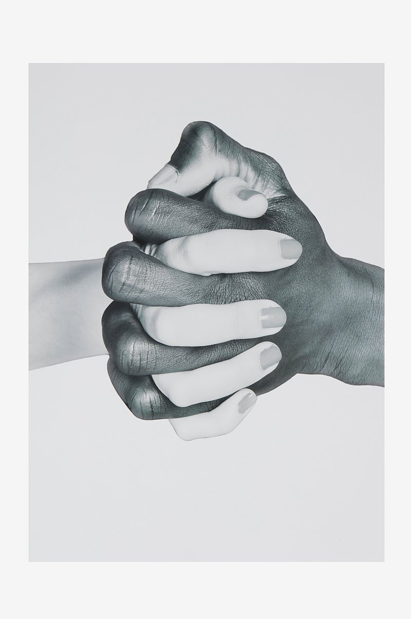 HANDS UNITED poster 50x70 cm