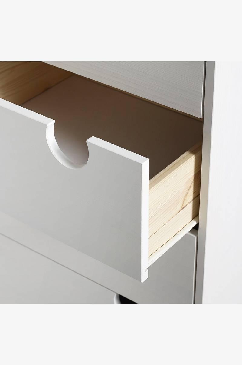 Karup Design Lipasto House, 6 laatikkoa Valkoinen