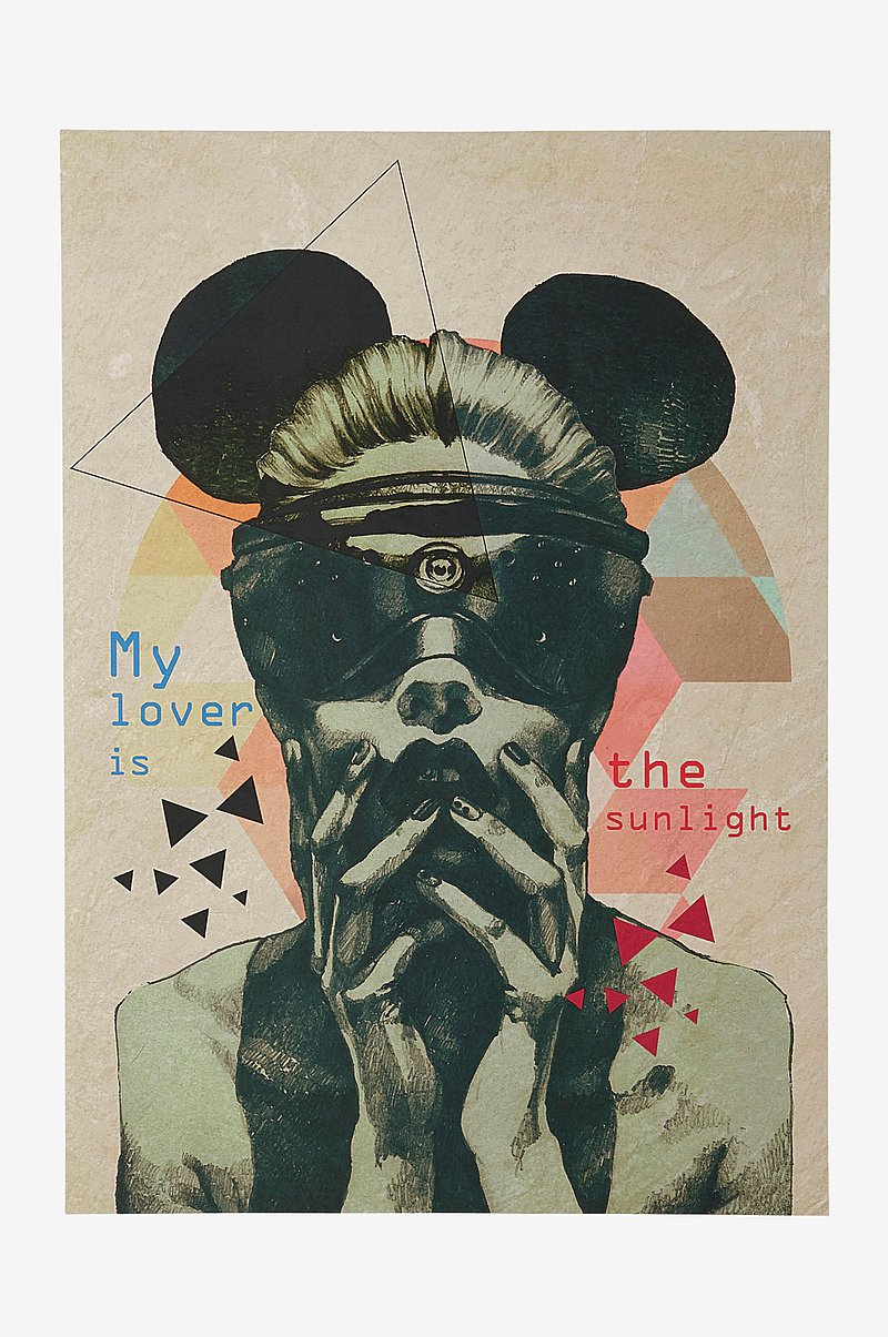 MASK poster 50x70 cm