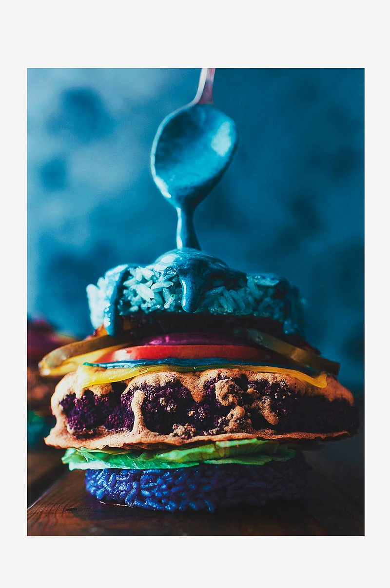 FOOD ART poster 50x70 cm