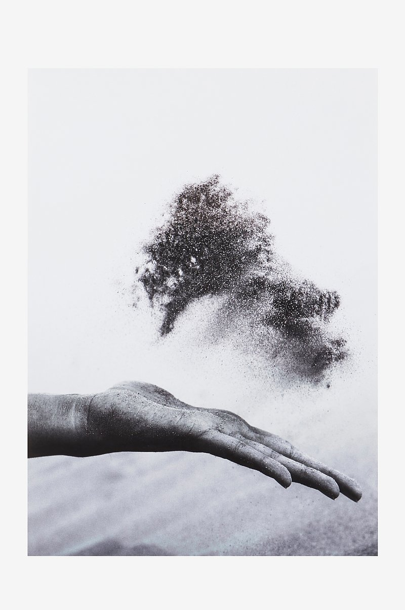 HAND DUST poster 50x70 cm