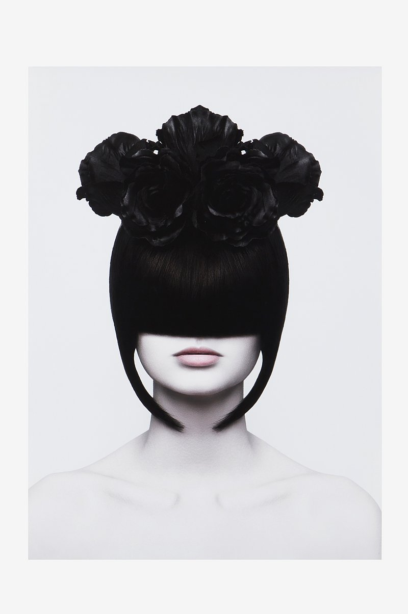 HAIR FLOWER poster 50x70 cm
